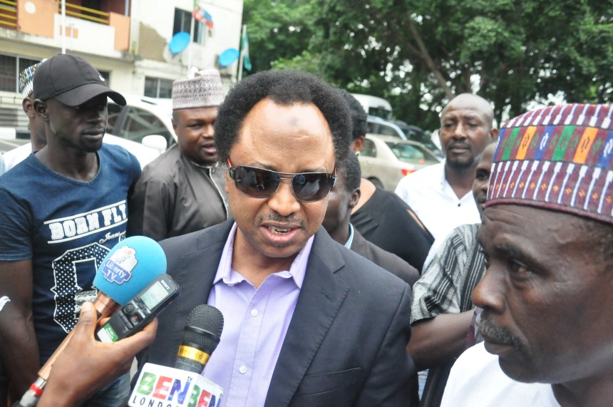 DSC 2179 1 - APC is finished if Buhari loses election – Shehu Sani