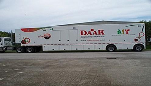 A Daar Communications media truck [photo: Business Post NG]