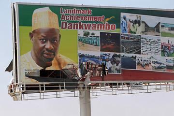 Adamawa govt ask Dankwambo's to remove campaign billboard