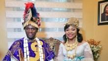 Olu Jacobs' son weds in Rivers
