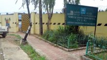 Entrance of a VIO Office at Anthony-Onigbongbo, Lagos