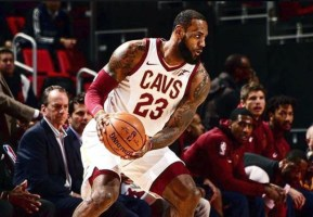 Cleveland Cavaliers talisman and an NBA finalist for eight consecutive years, LeBron James. [Photo credit: Official Facebook page of Lebron James]