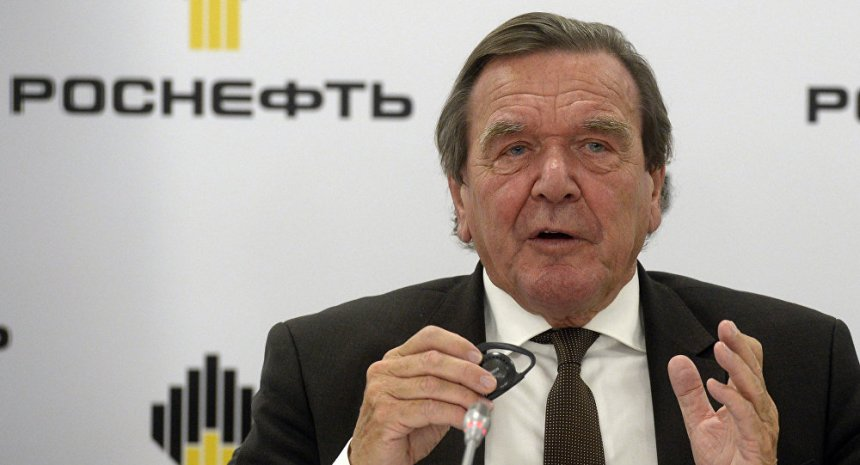 Former German Chancellor Gerhard Schroeder (Photo Credit: Sputnik International)