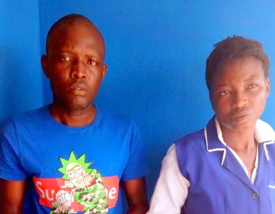Arrested doctor and nurse
