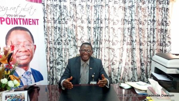 Vice-Chancellor, Technical University, (Tech-U), Ibadan, Oyo State, Ayobami Salami