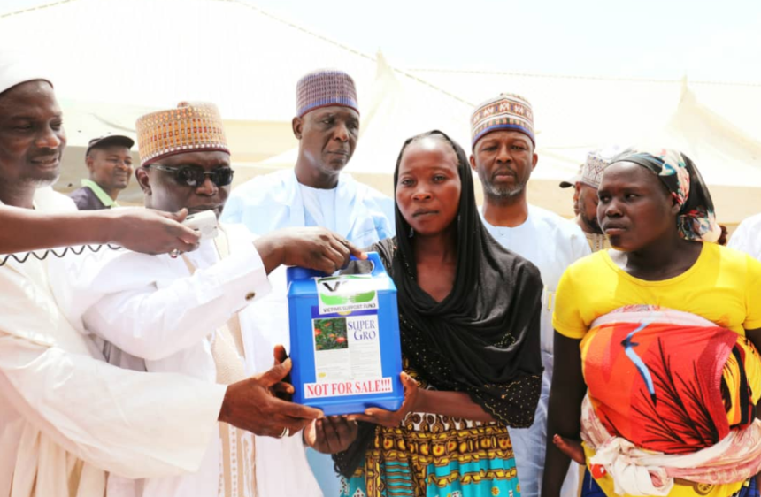 Image result for Insurgency: VSF supports 4,000 victims with Agro inputs in North East