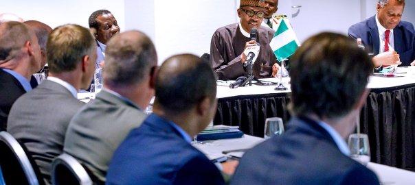 President Muhammadu Buhari at ICC