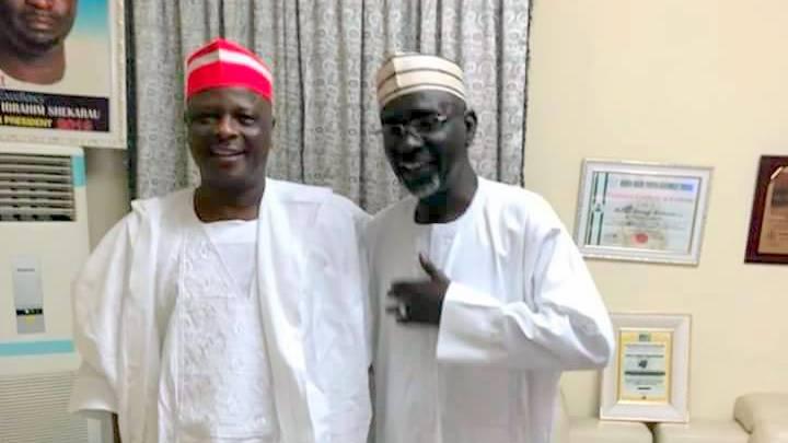 Two former governors of Kano State, Senator Rabiu Kwankwaso and Mallam Ibrahim Shekarau