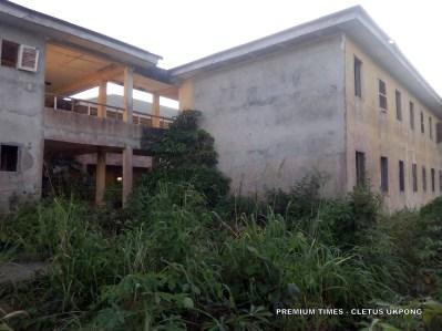 Model science school in Uruan, Akwa Ibom, abandoned by the Akwa Ibom state government. Photo_Cletus Ukpong