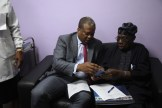 OBASANJO UNDERGOING MEDICAL CHECK UP IN BYS 150