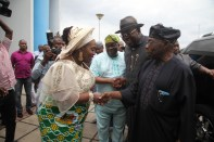 OBASANJO UNDERGOING MEDICAL CHECK UP IN BYS 330