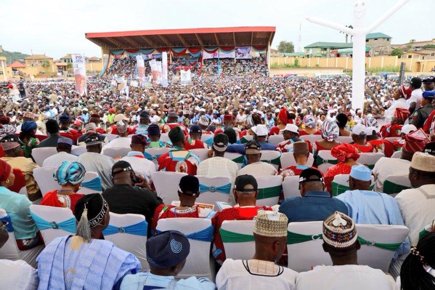 President Buhari in Ekiti