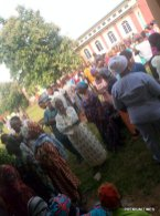 8:30am, LGA 06, RA Odò - Emure 1, PU 001, St Andrews Primary School/Olojido/Aderibigbe with a total of 420 registered voters - Accreditation/Voting process has commenced with the presence of unarmed police men, the aged ones are given preference to vote.