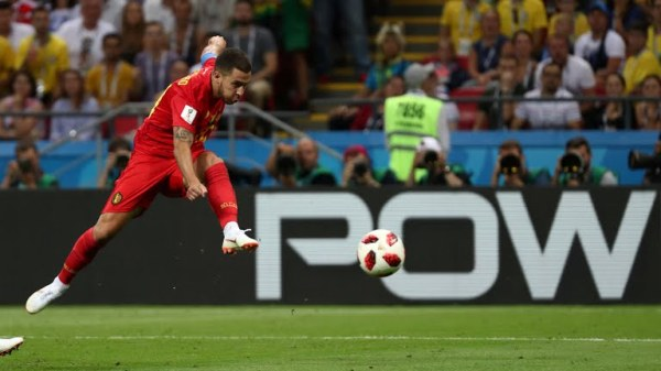 Hazard goal attempt (Photo Credit: Reuters)