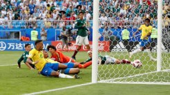 Neymar's Goal (Photo Credit: Reuters)