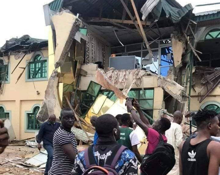 MusiciYinka Ayefele's radio station demolished in Ibadanan Yinka Ayefele's radio station demolished in Ibadan