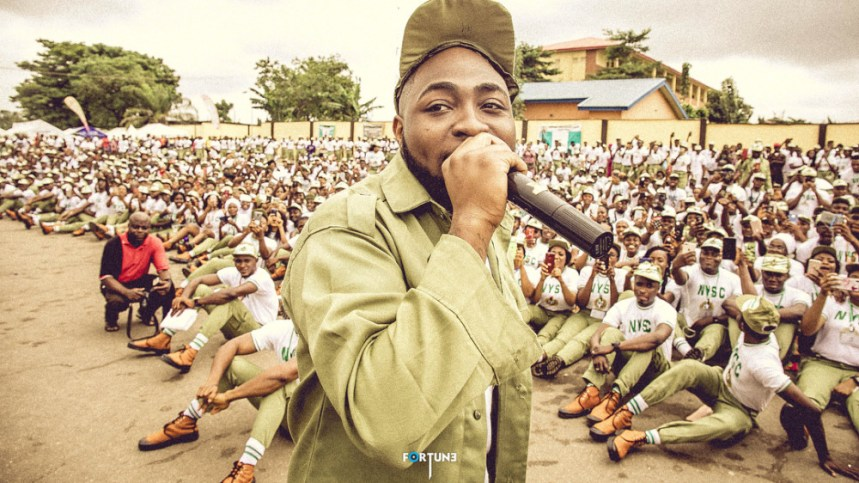 Image result for davido nysc