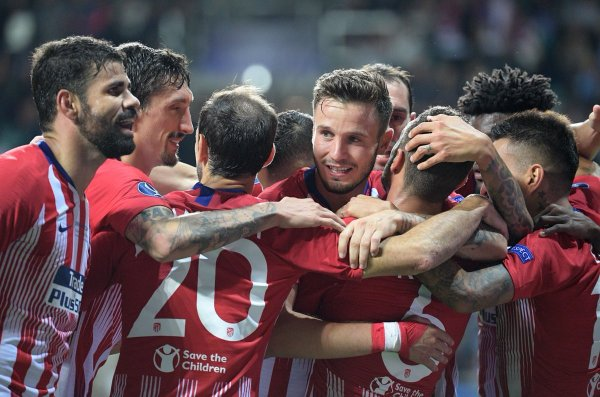 Atletico Madrid won the UEFA Super Cup