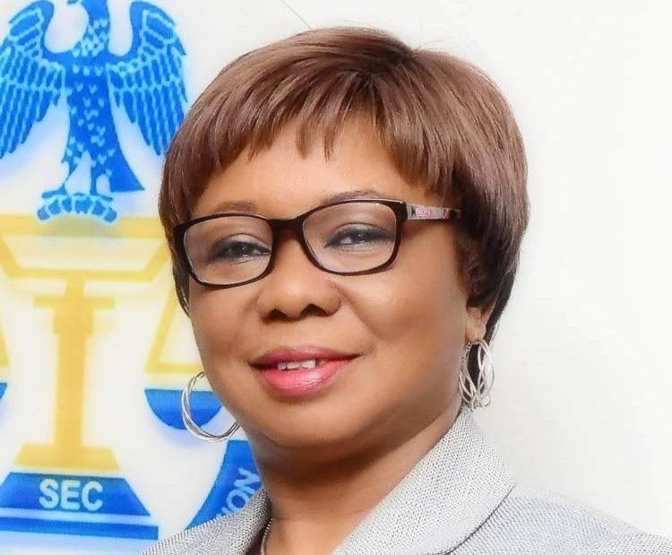 Acting Director General of the Securities and Exchange Commission, Mary Uduk.