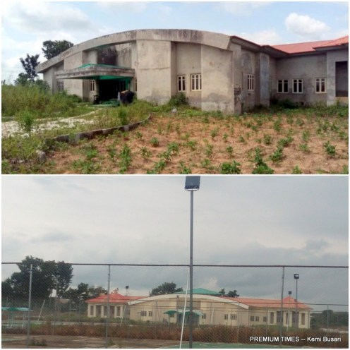 Before and after completion