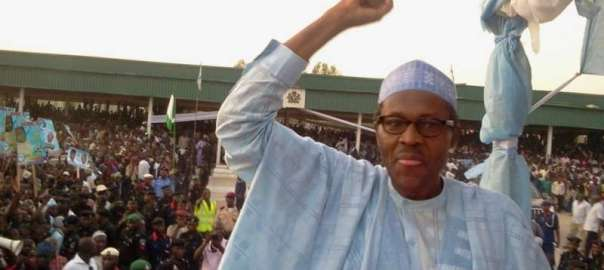 President Muhammadu Buhari at Eagle Square in Abuja, FCT.