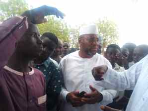 APC candidate, Ahmad Babba-Kaita on queue
