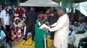 Governor Ifeanyi Ugwanyi of Enugu State