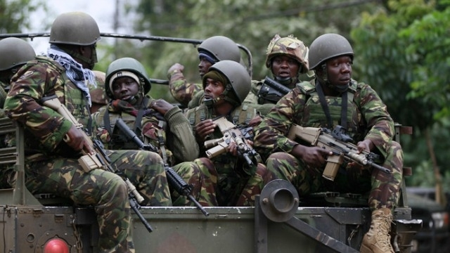 Kenyan soldiers used to illustrate the story. [PHOTO CREDIT: Kenya Insights]