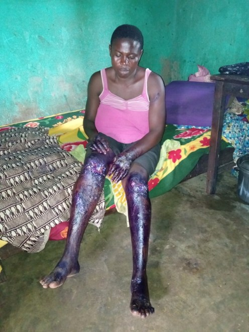 One of the victims, Mrs Idenyi