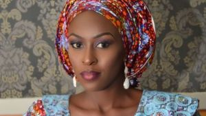 Kannywood star actress, Nafeesa Abdullahi. [PHOTO CREDIT: BBC]