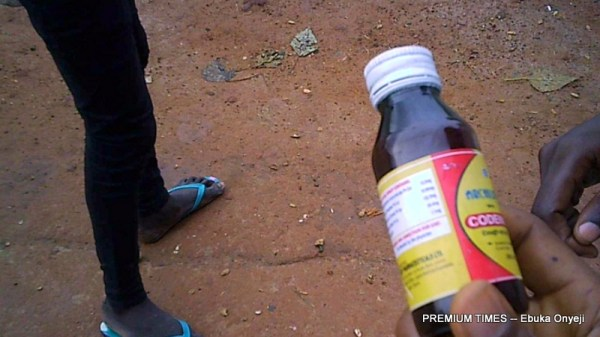 Ongoing transaction inside Codeine drug haven in Wuse, Zone 4, Abuja