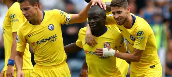 Ngolo Kante Huddersfield Chelsea [Goal.com]