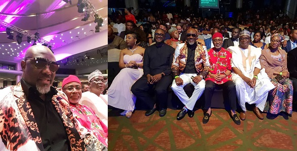 Dino Melaye at AMVCA