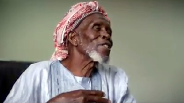 Imam Abdullahi Abubakar. [PHOTO CREDIT: US Emabssy Interview posted on its official Facebook page]