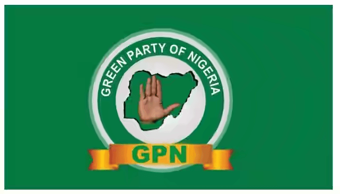 The Green Party of Nigeria (GPN) logo used to illustrate the story. [Official Facebook page of GPN]