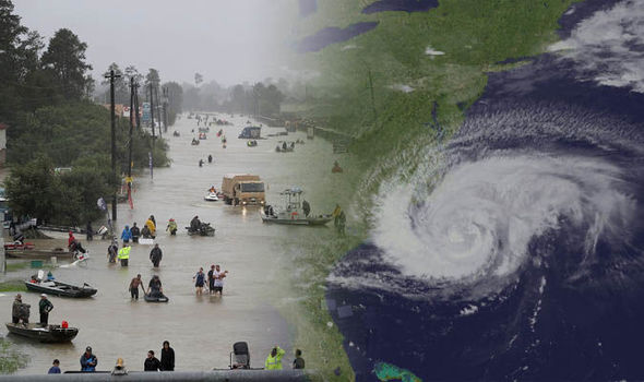 Hurricane Florence [Photo: Daily Express]