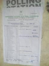 Osogbo LGA Unit 17, Ward 5 form EC60E