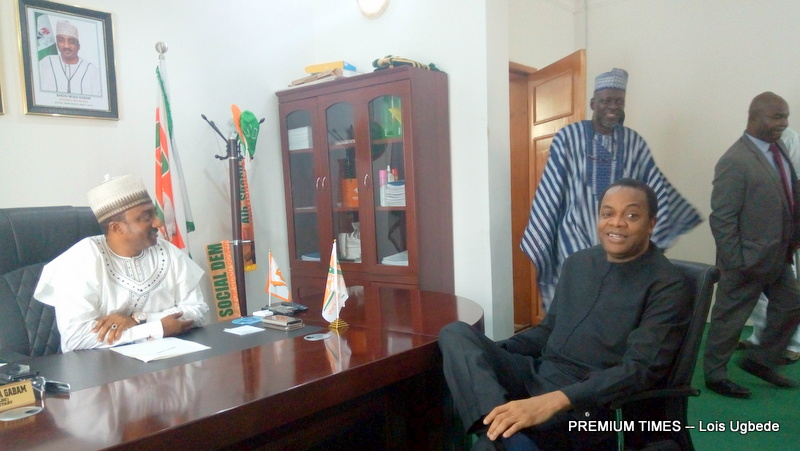 Donald duke and the national secretary of the party