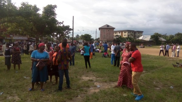 APC members are still patiently waiting for election materials to arrive in Akwa Ibom