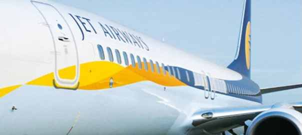 Jet Airways used to illustrate the story.
