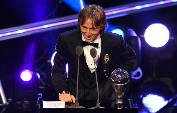 Luka Modric wins FIFA Best award