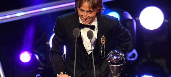 Luka Modric wins the FIFA Best Player of the Year