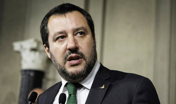 Matteo Salvini (Photo Credit: Daily Express)