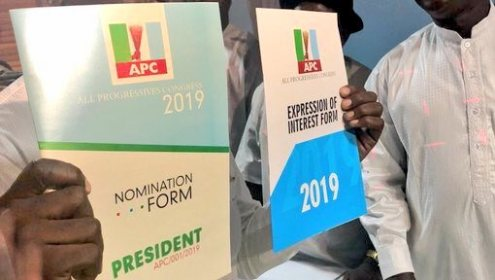 President Muhammadu Buhari nomination form and expression of interest form