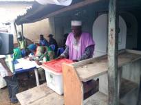 (8:40am) At PU 12, Isedo 1, the polling station of the APC leader, Bisi Akande, the voting exercise is going on peacefully.