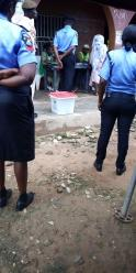 At 8:56am Election is in progress at PU003, Ward 5 Ira-Gberi, Egbedore LGA. The process is smooth over here.