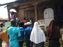 Voting ongoing in polling unit 5, ward 11, Ede North