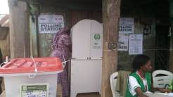 (10:52am) At ward 2 PU1, Ila-Orangun LG, the cubicle is well placed and guarded to avoid seeing the choice of the electorates. The first seen in the LGA.