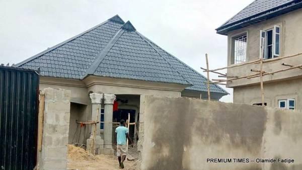 Building prior to demolition