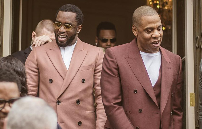 Diddy and Jay-Z [photo: Rap-Up]